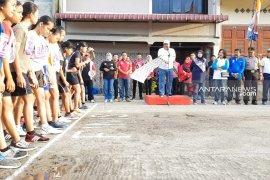 Wali Kota Sibolga lepas lomba lari antar pelajar berhadiah Rp56 juta