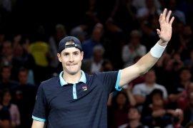 Kalahkan Bublik, petenis AS John Isner raih gelar ATP Newport keempat