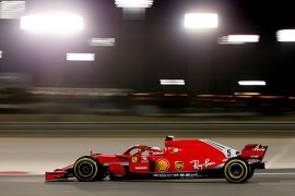 Ferrari dominasi sesi latihan bebas FP1-FP2 GP Bahrain