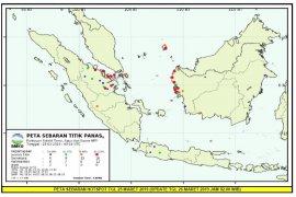 Titik hotspot di Riau dan Kepri kembali meningkat