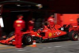 "Charlea Leclerc raih ""pole position"" pertamanya di Bahrain"