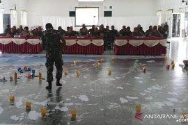 Korem latih prajurit bantu kepolisian amankan pemilu