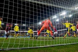 Skor 3-3, Gol-gol menit akhir buat laga Norwegia vs Swedia semakin dramatis