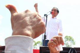 Jokowi optimistis menang 60 persen di Kalimantan Barat