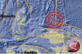 Manokwari diguncang gempa magnitudo 5,5