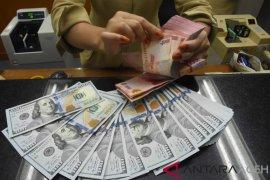 Rupiah Kamis sore menguat setelah rilis data inflasi