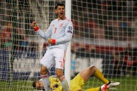 Alvaro Morata bawa kemenangan Spanyol atas Malta