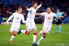 Tertinggal 3 gol, Denmark paksa Swiss berbagi poin di 10 menit akhir pertandingan