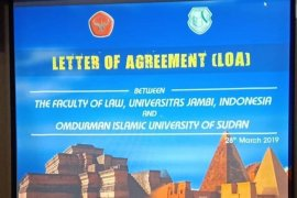 Fakultas Hukum Unja kerjasama dengan Omdurman Islamic University