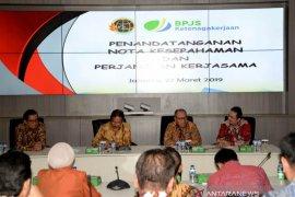 BPJSTK Lindungi 17.000 Honorer Kementerian Agraria dan Tata Ruang/BPN