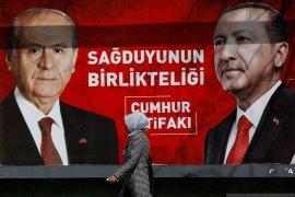 Erdogan alami pukulan pada pemilu lokal