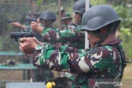 Korem 045 Garuda Jaya gelar latihan menembak senjata ringan