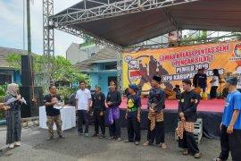 Delapan Padepokan Silat Ramaikan Sosialisasi Pemilu di Kabupaten Serang
