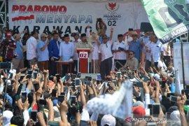 Prabowo nyatakan sudah menjadi alat rakyat