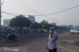 Pekanbaru dan Dumai berkabut asap tipis akibat karhutla