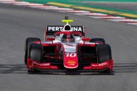 Balapan F2, Sean Gelael harus puas finis P10 setelah start di posisi 20