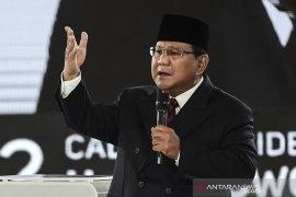 Capres 02 Prabowo Subianto batal ke Aceh