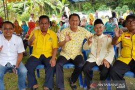 Perjuangkan aspirasi masyarakat Babel, Wejangan sesepuh Golkar Beltim kepada Bambang Patijaya