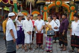 Wawali Kota Denpasar hadiri Dharma Santhi Nyepi