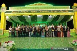 Tanjung Balai dan Teluk Dalam juara festival nasyid Asahan 2019