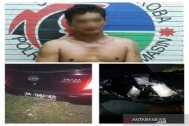 Polisi geledah mobil temukan tiga paketan sabu-sabu