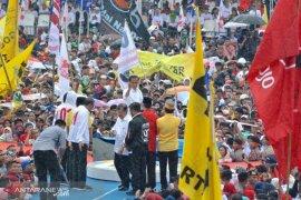 Jusuf Kalla: orang yang marah-marah di televisi pasti bukan Jokowi