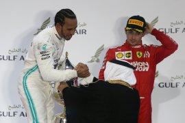Hamilton juarai GP Bahrain