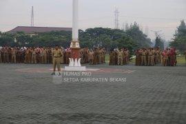 ASN Bekasi ucap ikrar pernyataan sikap pemilu