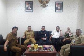 Temui Sekkab, Jauhar Minta Dukungan Tingkatkan IDM Kutai Kartanegara