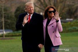 Sejumlah negara harap presiden Trump lekas sembuh dari COVID-19