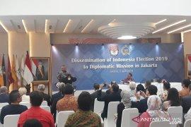 KPU jelaskan Pemilu 2019 kepada 170 duta besar