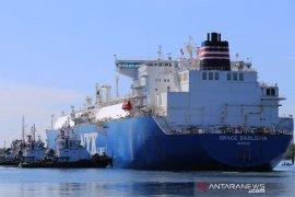 Pusat logistik dan penyimpanan LNG Perta Arun diresmikan