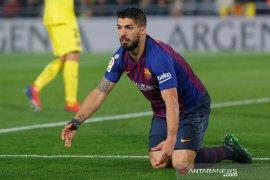 Keunggulan Barcelona terhempas di klasemen Liga Spanyol,
