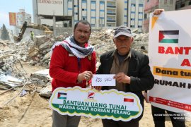 Rakyat Indonesia bantu warga Gaza Rp10 Juta/KK