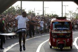 Pelari legendaris Usain Bolt dikaruniai anak kembar