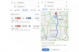 Rute MRT Jakarta ada di Google Maps