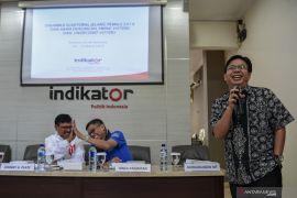 Survei Indikator: Delapan partai tidak lolos ke parlemen