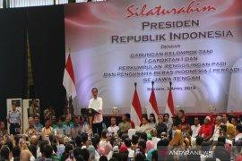 Jokowi hadiri acara silaturahmi Gapoktan-Perpadi
