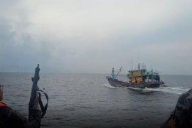 KKP kembali menangkap kapal ikan  berbendera Malaysia