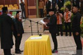 Erwin Asmadi resmi dilantik sebagai anggota DPRD Babel PAW