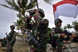Sembilan bulan jaga daerah perbatasan, 450 prajurit TNI kembali ke Bengkulu