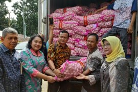 Kementan  operasi pasar bawang merah dan bawang putih di Jakarta
