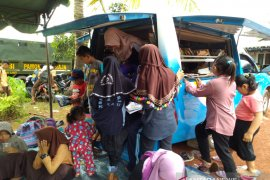Perpustakaan keliling kunjungi Desa Tambang Sarinah