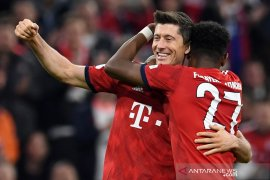 Muenchen pesta lima gol tanpa balas ke gawang Dortmund