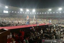 Prabowo Subianto apresiasi totalitas pendukungnya hadiri kampanye akbar