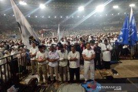 Zikir hingga selawat badar bergema di GBK pada kampanye akbar Prabowo-Sandi