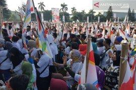 Buruh Indonesia deklarasi dukungan Jokowi di Bekasi