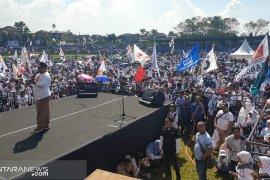 Seorang peserta kampanye di Sukabumi meninggal akibat kelelahan