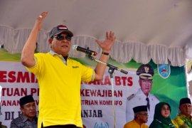 Gubernur ajak warga Paramasan sukseskan pesta demokrasi