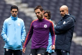 Hadapi Tottenham Hotspur, Sergio Aguero siap perkuat City